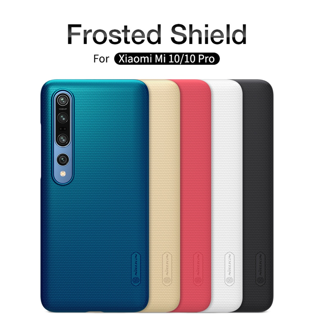 AliExpress - For Xiaomi Mi 10 Case Cover NILLKIN Super Frosted Shield High Quality Fitted Cases For Xiaomi Mi 10 Pro