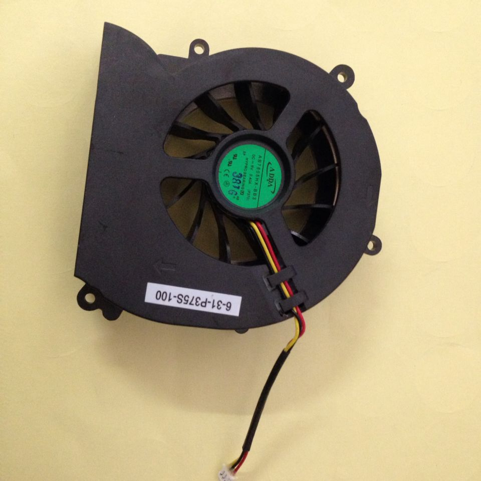 AB7805HX-BB3(P370) VGA gráficos ventilador para CLEVO P270WM3 P570WM3 P370EM P370EM3 6-31-P270S-100 AB7805HX-BB3(P270) 6-31-P375S-100