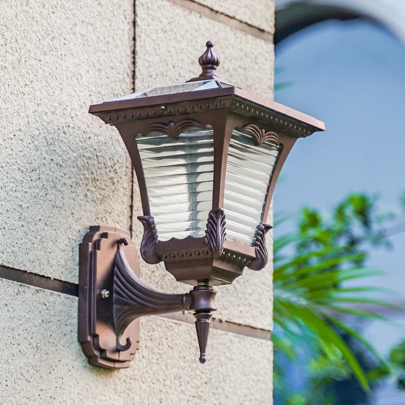 Aluminum LED Solar Lamp Path Stair Outdoor Waterproof Wall Light Garden Landscape Step Deck Lights Balcony Fence Solar Lights enlarge