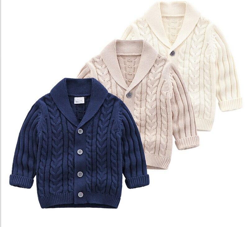 Baby Girls Boys Fashion Long Sleeve Buttons Knit Top Warm Solid Color Tops Knitted Cardigan for Kids Baby Boys casual crochet baby sweater for boys solid warm autumn cardigan knitted kids long sleeve sweater school coat baby boys clothing