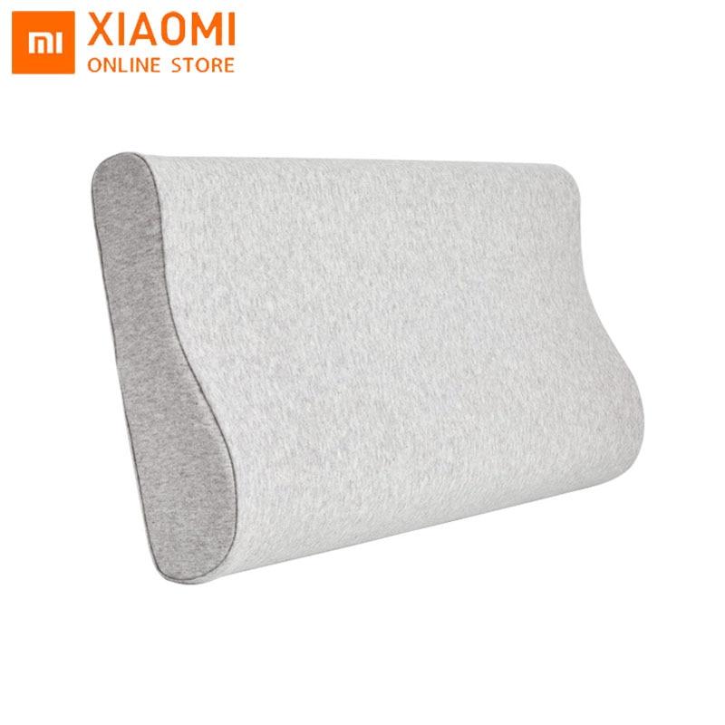 Xiaomi mijia-وسادة ميموري فوم ، أصلية ، حماية للرقبة ، مضادة للبكتيريا ، مسامية ، بطيئة ، للاسترخاء ، وسادة نوم ناعمة
