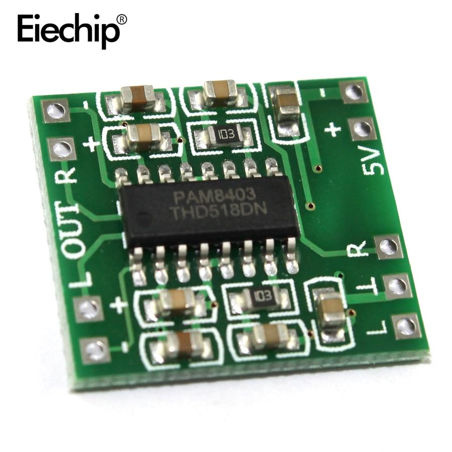 PAM8403 плата цифрового усилителя 2*3 Вт Класс D 2,5 в-5 в мощность аудио динамик усилитель звука плата Modulo Amplificador для Arduino