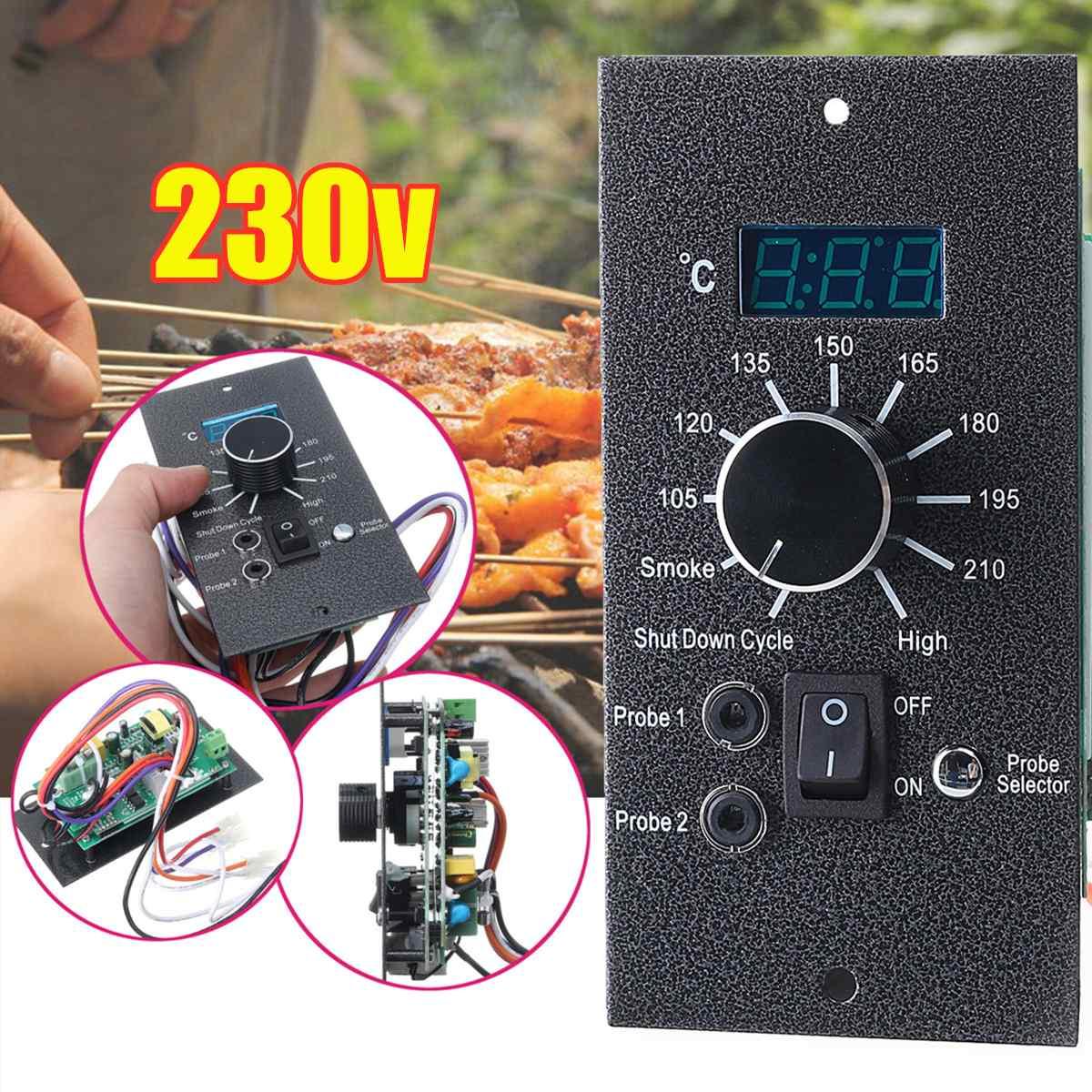 لوحة ترموستات رقمية للحديد ، 230 فولت ، متحكم في درجة الحرارة ، بديل لشواية الشواء ، أواني المطبخ