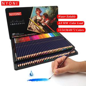 24/36/48/72 professional lapis colored pencils watercolor set  pencils for chilren drawing crayons