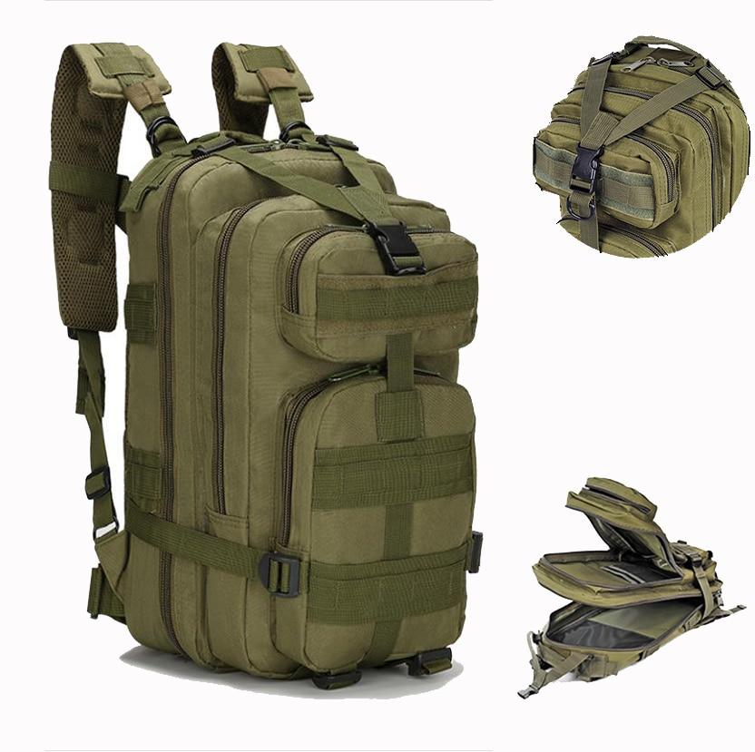 الرجال 25-30L العسكرية التكتيكية على ظهره ، حقيبة ظهر مضادة للماء ، حقيبة سفر رياضية ، في الهواء الطلق ing التخييم الجيش على ظهره