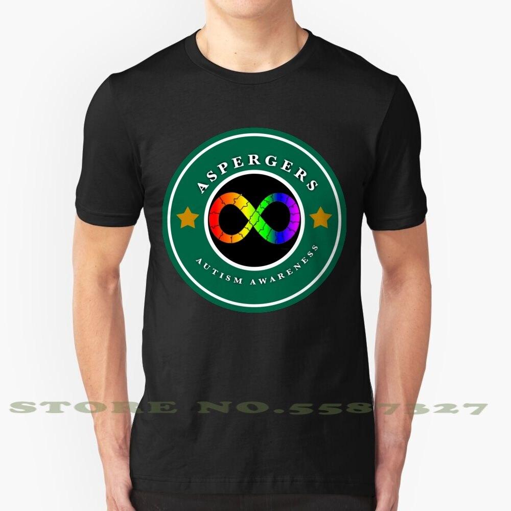 Aspergers, camiseta Vintage de moda para Concientización del autismo, Aspergers, concientización del autismo, Mes de Concientización del espectro del autismo