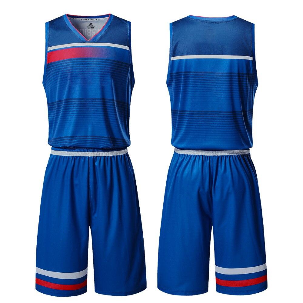 Basketball Professional Game Training Uniform Men'S Custom Basketball Suit Breathable Sports Vest Shirt Basketball Jersey