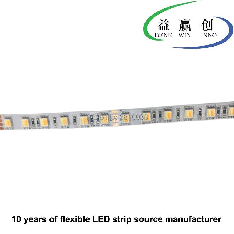 100 m/lote DC24V flexible led fresco de luz cri 80 + comida tira de luz led de 10mm de ancho, 17,3 W/mk tira de luz led para alimentos para Pan de carne