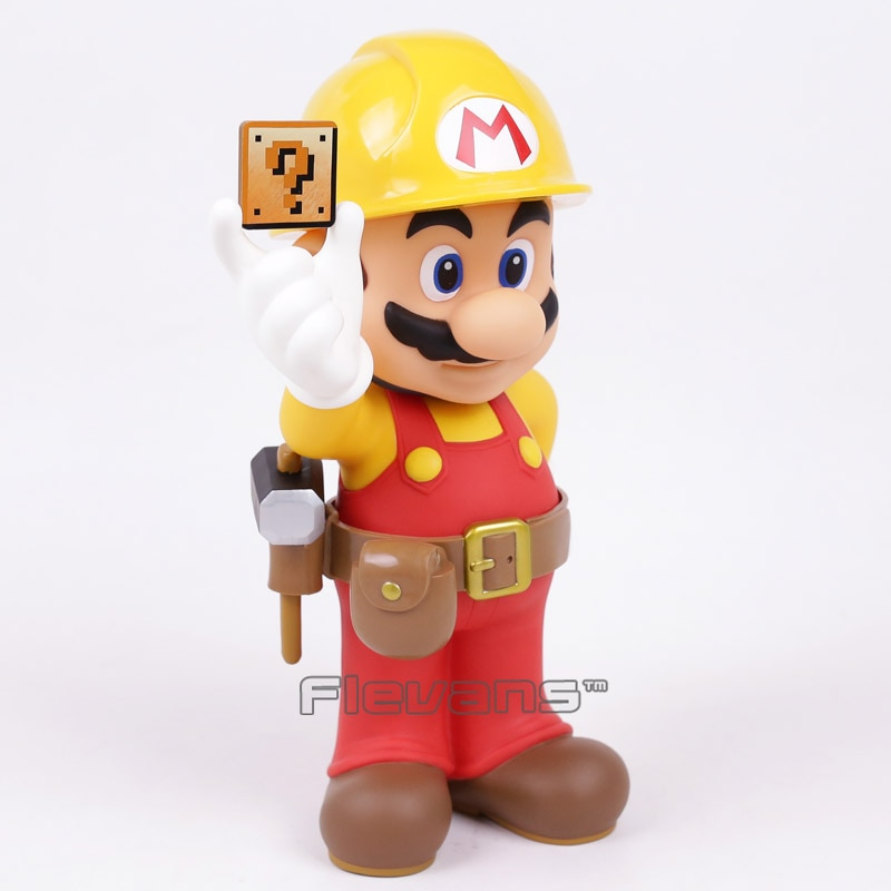 Taito Super Mario fabricante Mario 30 aniversario figura de PVC modelo coleccionable muñeca figurita dorada