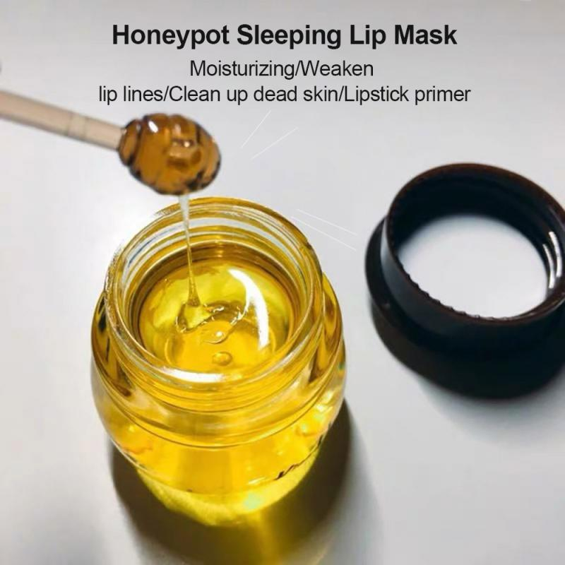 Propolis Moisturizing Lip Mask Lip Balm Nourishing Anti-wrinkle Lip Care Anti-cracking Unisex Lip Mask Honey Lip Mask Ge