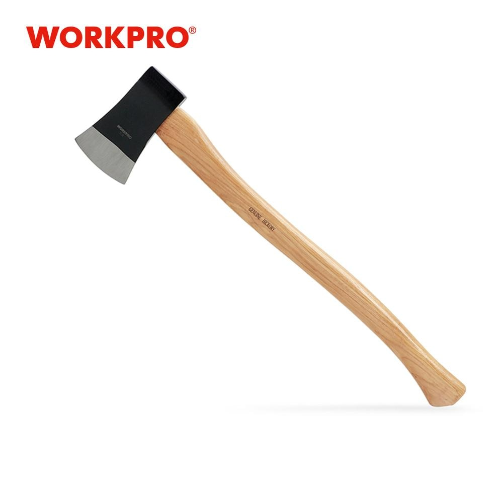 Medinis kirvis 2 svarų medinis rankenos kirvis, lauko ir kempingo įrankis