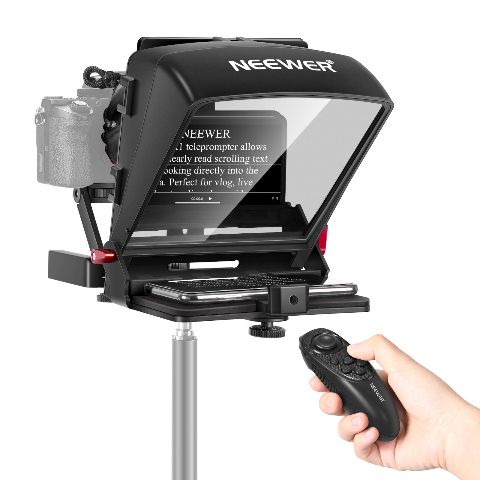 Neewer-جهاز تحكم عن بعد صغير للهاتف الذكي ، جهاز تحكم عن بعد للفيديو ، جهاز تحكم عن بعد لهاتف iPhone ، Samsung ، تسجيل الكاميرا بدون مرآة