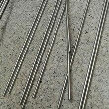 10 piezas * 500 mm de longitud SS304 tubo de acero inoxidable condición dura pequeño tubo industrial, longitud