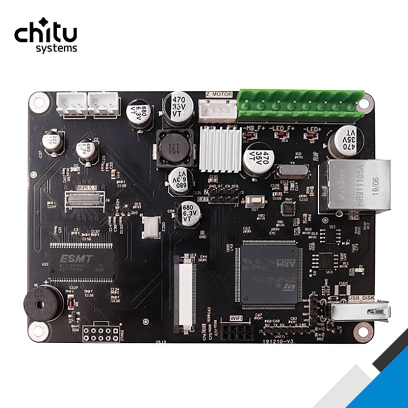 SLA Control Board ChiTu L V3  For Creality LD-002R 3D Printer Board With 32Bit ChiTu System  Motherboard