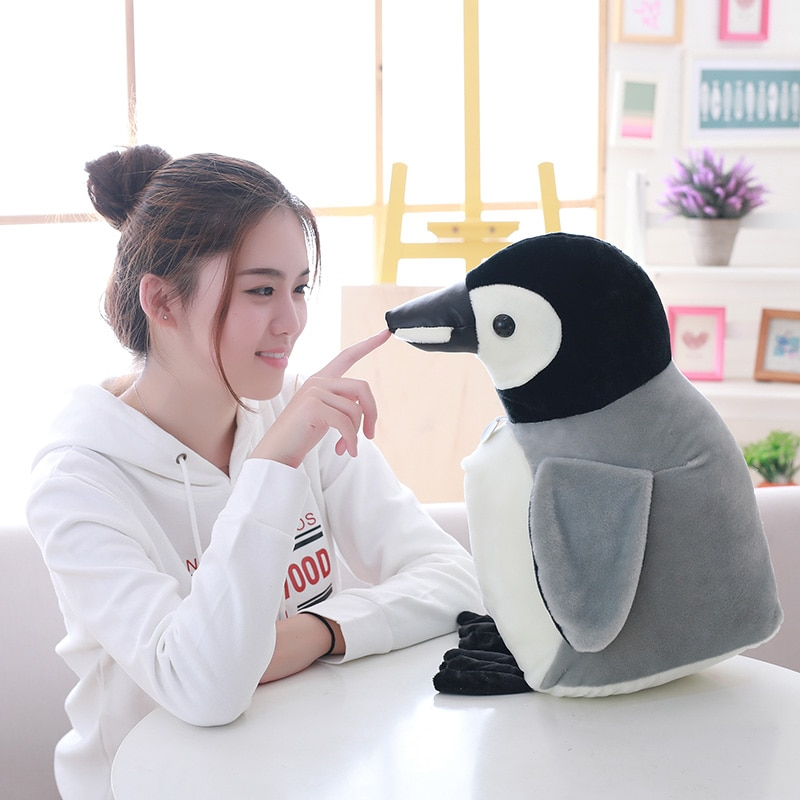 35cm/45cm/55cm plush imitation penguin penguin is a Christmas gift penguin doll for children