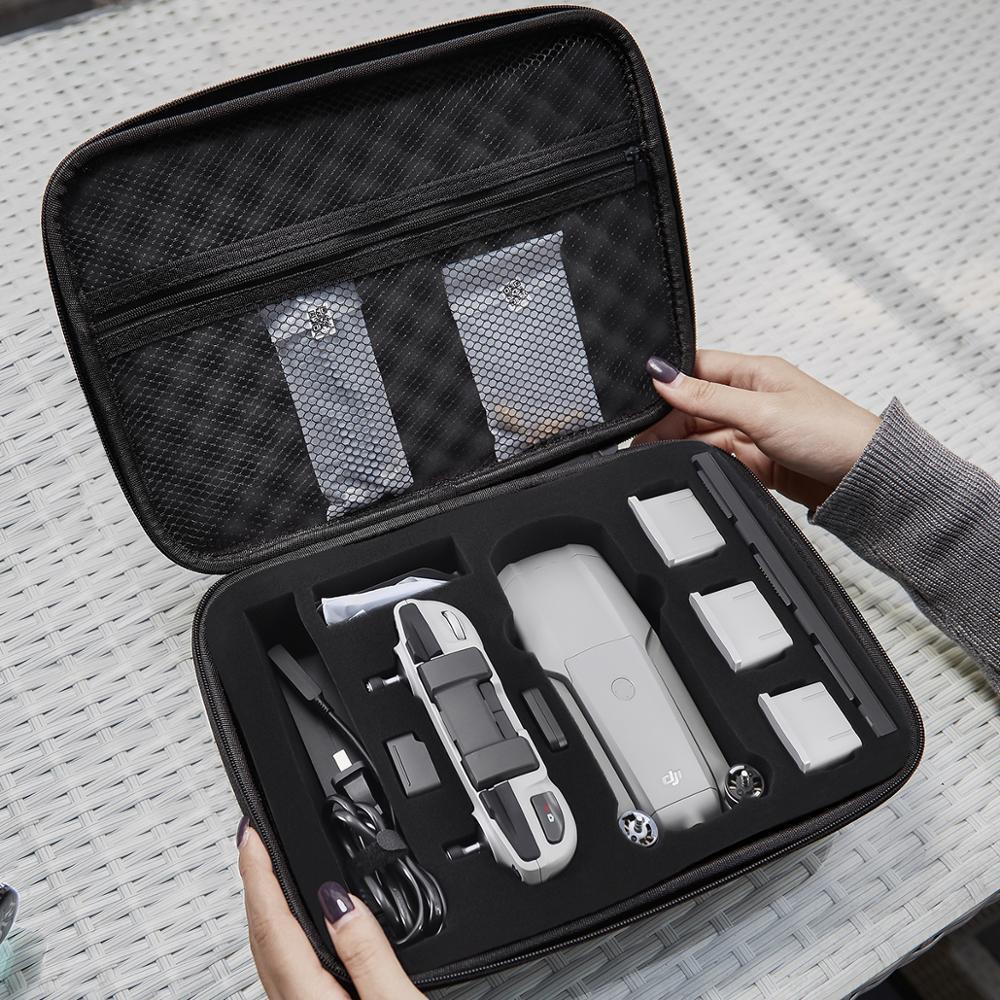 Mavic Air 2 Portable Storage Bag Travel Case High Capacity Handbag Wear-resistant Hard Cover For Mavic Air 2S Drone Accessories