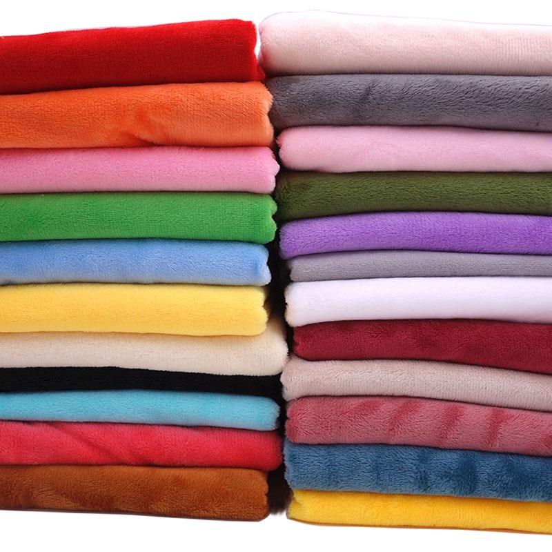 50cm*160cm Short plush crystal super soft plush fabric for sewing dolls DIY Handmade Home Textile Cl