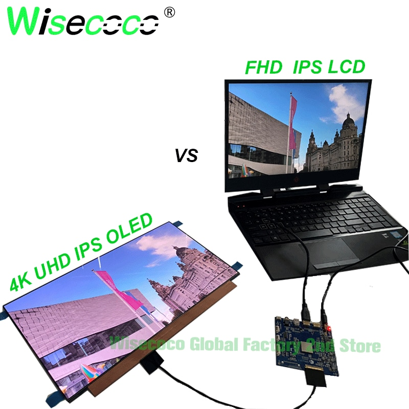UHD 15.6 inch 3840X2160 4K AMOLED OLED IPS 60Hz screen with  driver board enlarge