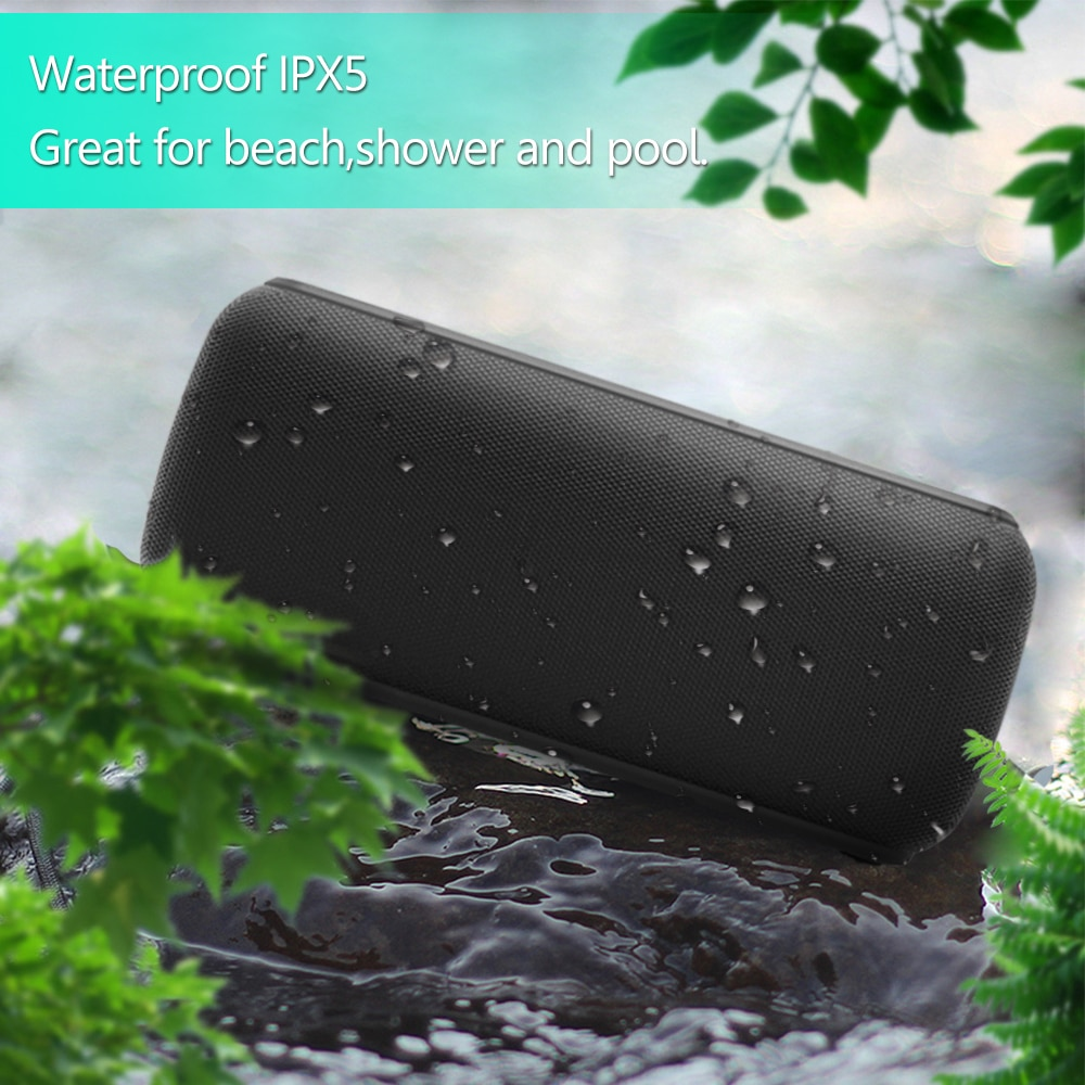X8 Speakers Outdoor Subwoofer Bluetooth Wireless Portable HiFi Sound Box 60W With DJ Water Audio IPX5 Proof Loudspeaker enlarge