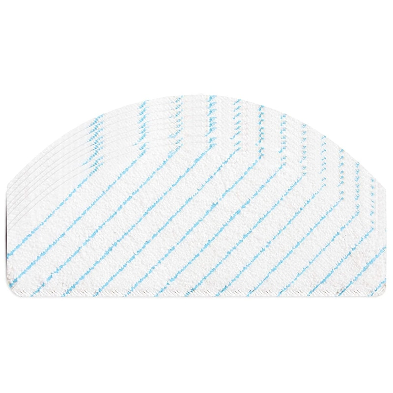 100 Pack Disposable Mop Pads Compatible for Ecovacs Deebot Ozmo T8 AIVI Robot Vacuum Cleaner