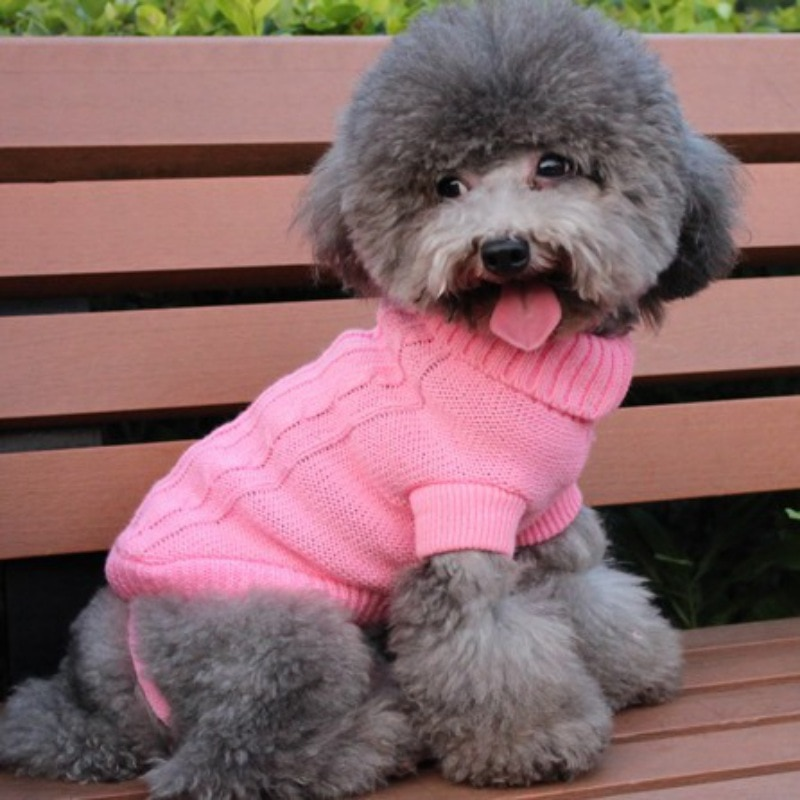 Suéter para mascotas ropa de gato y perro puente con capucha mascota cachorro abrigo chaqueta invierno ropa de abrigo Apperal ropa para mascotas