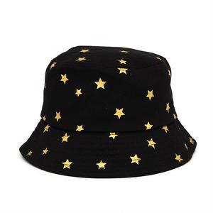 2021 Cotton four seasons Shine Star Print Bucket Hat Fisherman Hat Outdoor Travel Sun Cap for Men and Women 368