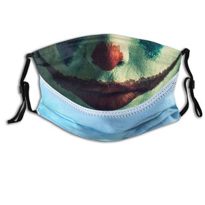 Adult Clown Latex Mask Joy Cosplay Props Humorous Elastic Band Half Face Party Women Men Halloween Latex Masks Funny