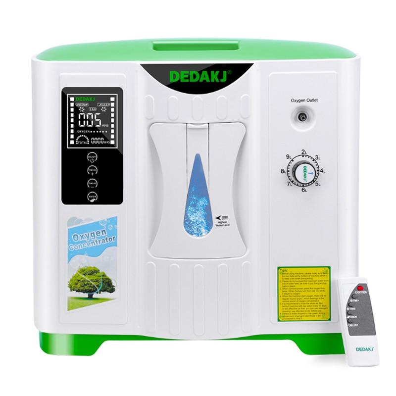 2L-9L طبيّ مُكثّف أوكسجين مولد أكسجين يجعل آلة استخدام بيتيّ أكسجين توليد آلة مع إنجليزيّ نسخة DDT-2A