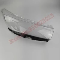 light caps car lampshade front headlight cover glass lens shell car front headlight cover for toyota highlander 2018 2020