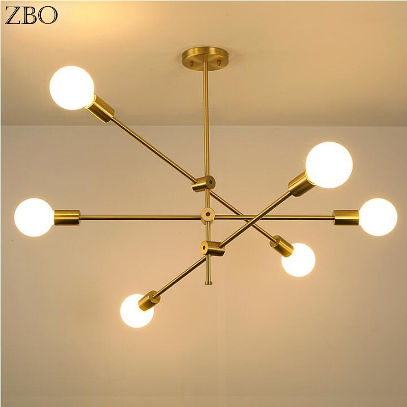Nordic Pendant Lamp Iron Gold For Bar Living Room Bedroom Dining Room E27 LED Geometric Indoor Luxury Lighting Pendant Lights nordic pendant lamp iron gold for bar living room bedroom dining room e27 led geometric indoor luxury lighting pendant lights