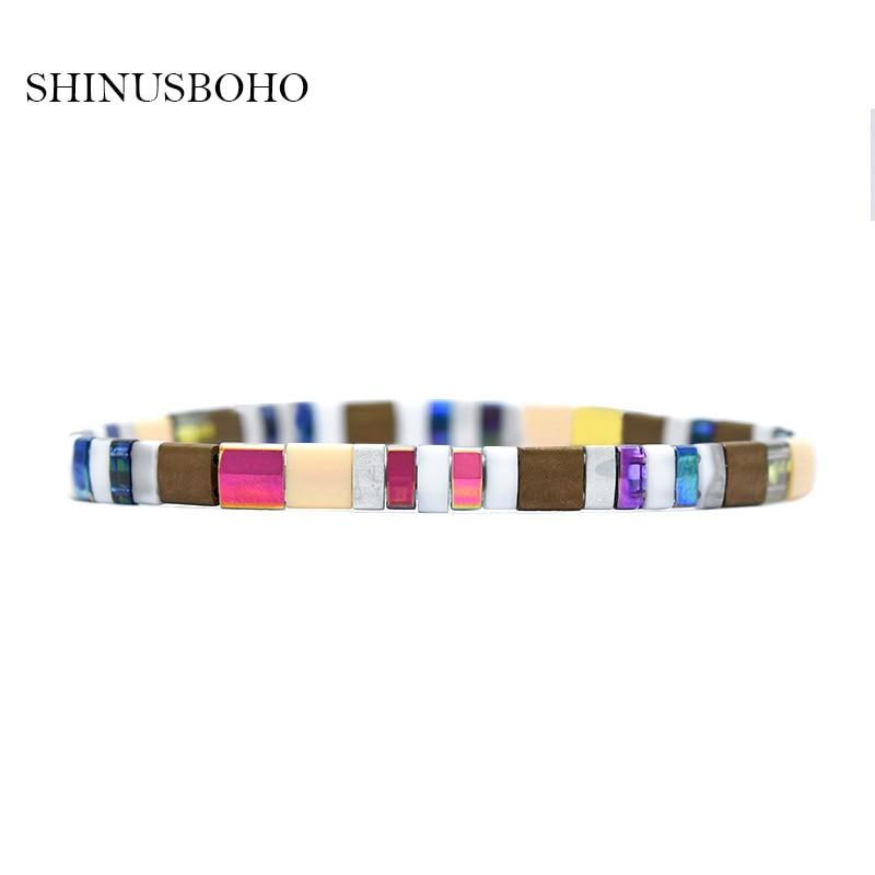 Tila perles Bracelet MIYUKI à la mode 2020 nouveau hommes femmes Bileklik Femme Vintage Bracelets Boho Chic bijoux