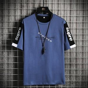 2021 New Fashion Printed Men T-Shirt Short Sleeve Casual Harajuku Hipster Funny Tees Cool Tops Male High Quality Dropshipping
