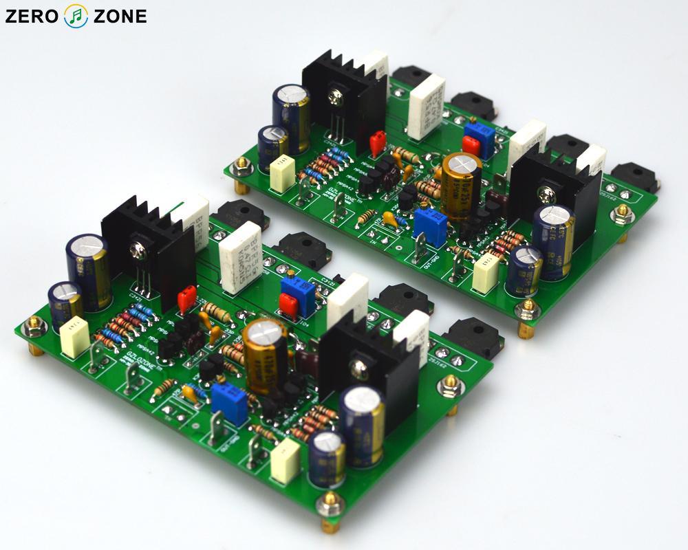 Un par HM3S alta clase de polarización AB placa amplificadora/Kit/Pcb base en GOLDMUND GM29 120W + 120W