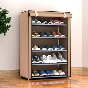 Multi-layer Combination Shoe Rack Dustproof Storage Shoe Cabinet School Dormitory Simple Assembly Storage Rack Finishing Shelf