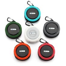 Waterproof Outdoor Bluetooth Speaker Big Suction Cup Dustproof Stereo Outdoor Sports Mini TF Subwoof
