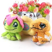 Monstruos Digimon Adventure Palmon Gabumon Agumon felpa colgantes Digimon Digital suave peluche juguetes muñecas