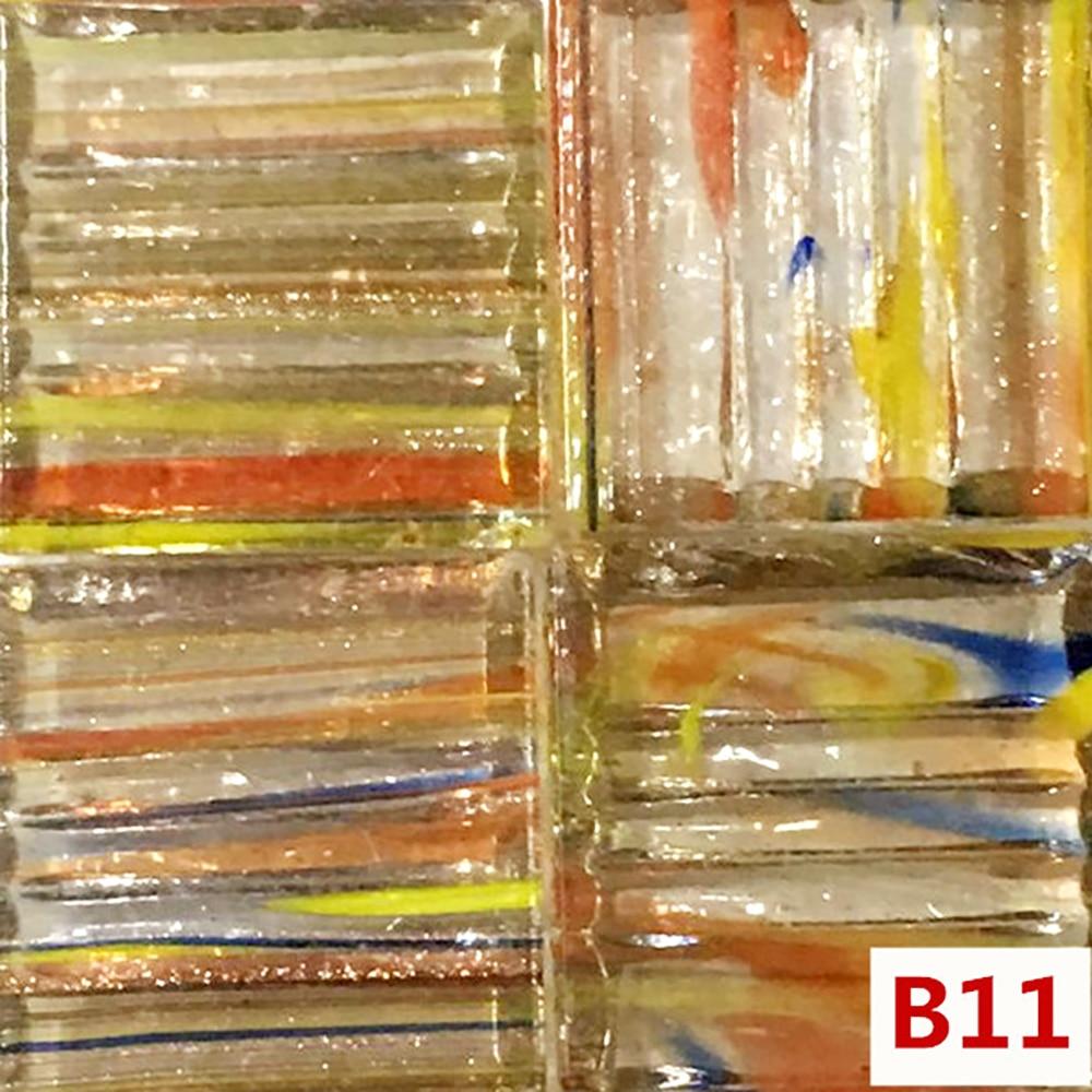 30pcs Multicolor Glass Mosaic Tile Sequin Ceramic Mosaic Tiles DIY Arts Crafts Making Material Wholesale