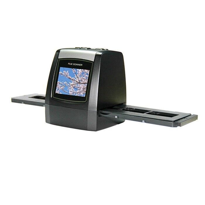 max 22 mega pixels 35mm negative and slide film scanner with 2.4'' TFT LCD display