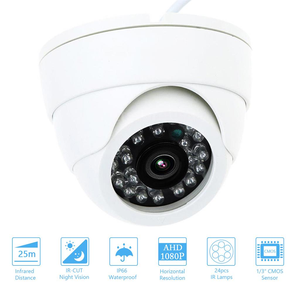 HD كاميرا الأمن AHD مراقبة كاميرا بشكل قبة الأشعة تحت الحمراء للرؤية الليلية مراقب لنظام DVR NTSC التناظرية المنزل في الهواء الطلق
