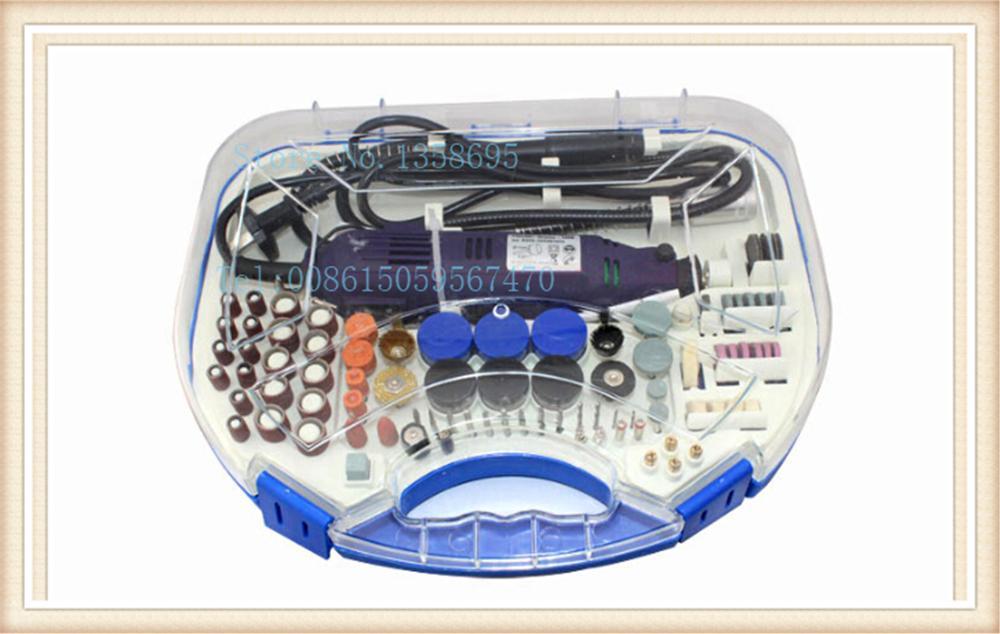 Diy Rotary Tool Kit abrasive tool Mini laptop rotary beading tools kit  jewelry Rotary tool and accessaries