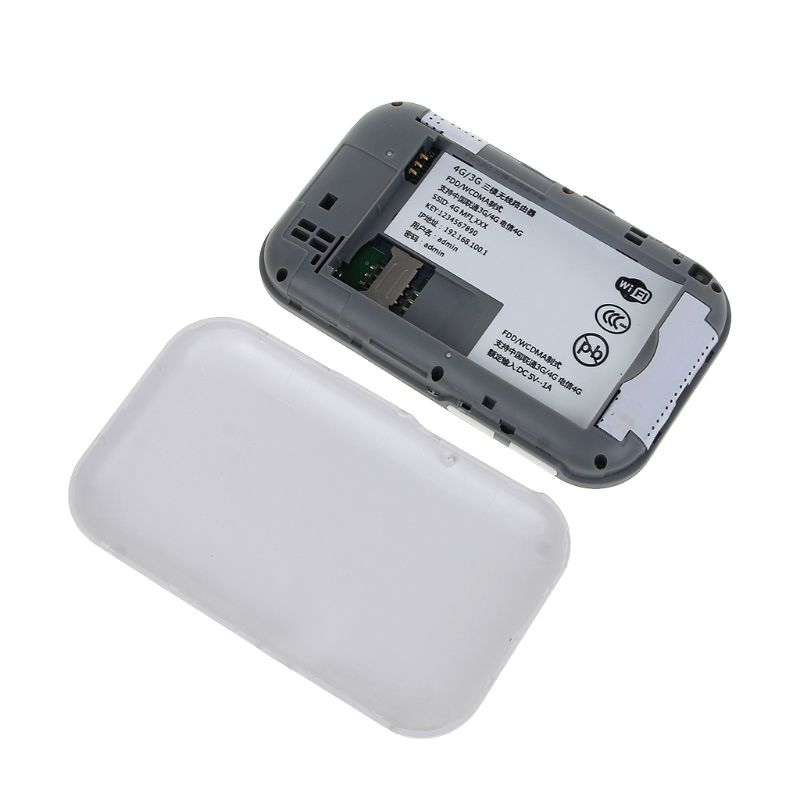 Unlocked 4G Wifi Router 3G 4G Lte Portable Wireless Pocket Wifi Mobile Hotspot Car Wifi Router with Sim Card Slot enlarge