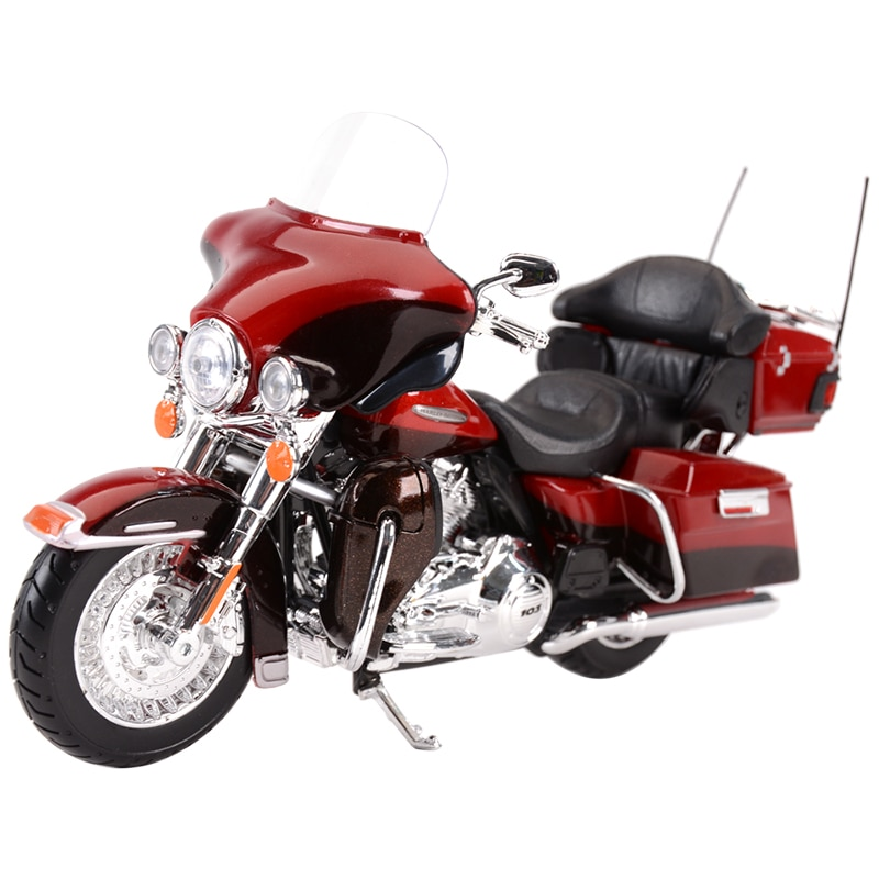 Maisto 1:12 2013 Electra Glide Ultra Limited Die Cast Vehicles Collectible Hobbies Motorcycle Model Toys