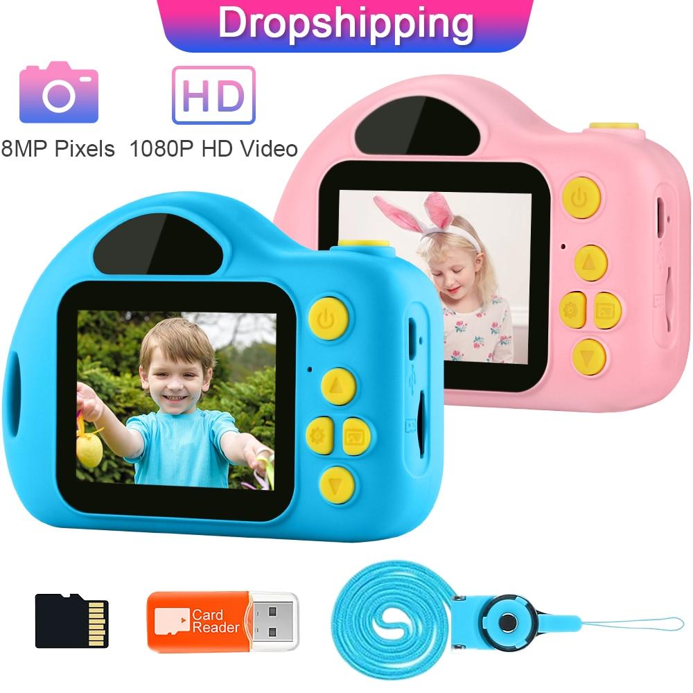 Kid Camera Children Toy Mini Camera Photo Educational Fun Toys for Girls Gift Digital Camera Child Video Camera GKTZ Blog Camera