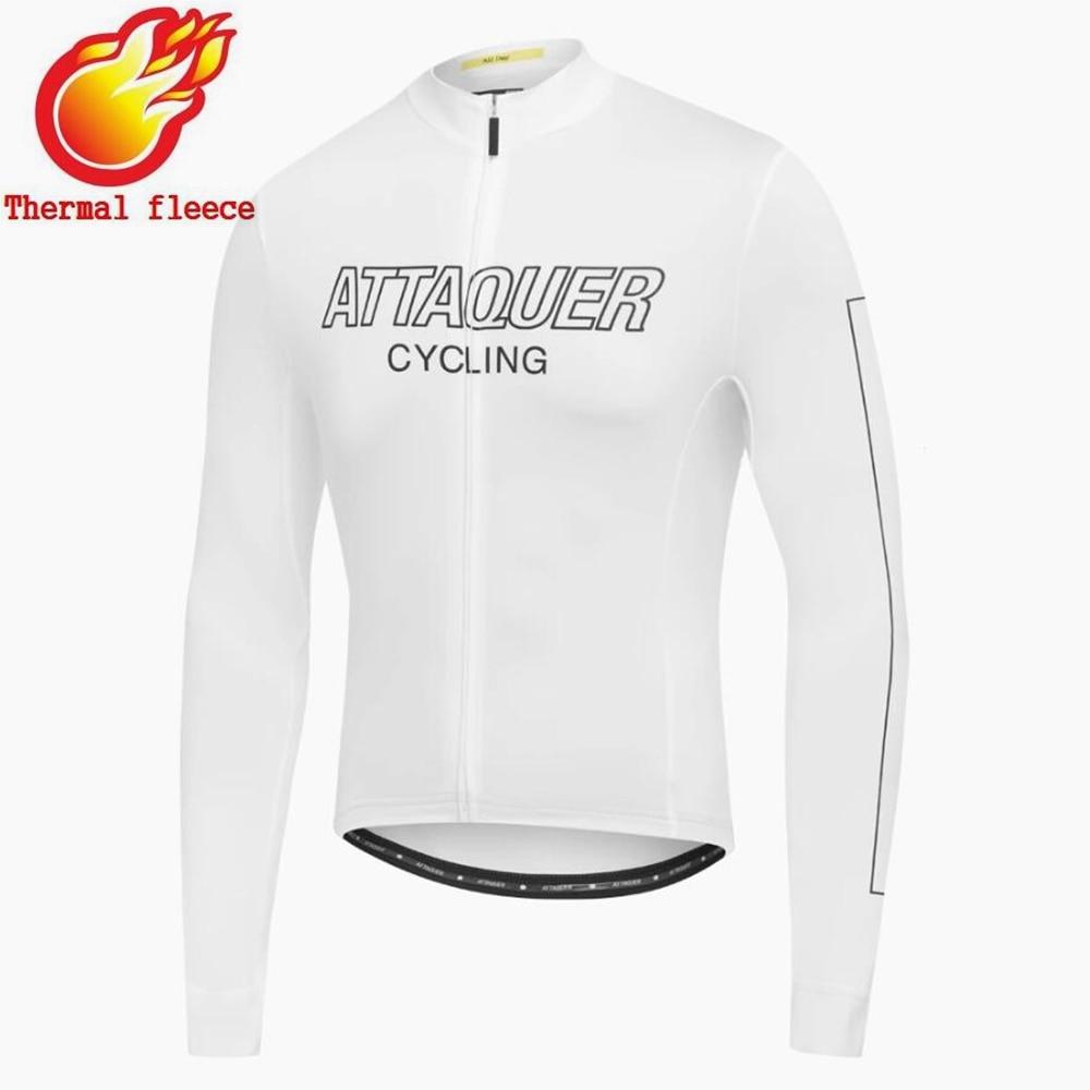 Attaquer térmico Invierno Polar ciclismo Jersey hombre jersey de 2021 equipo de...