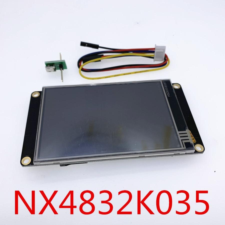 "3,5 ""NX4832K035 Nextion mayor HMI USART UART serie táctil resistiva TFT LCD Módulo de pantalla del Panel para Arduino Raspberry Pi"