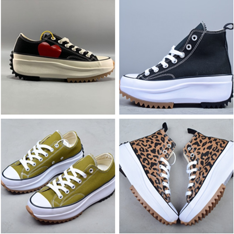 Women's high canvas shoes Women's casual canvas shoes with increased height Thick-soled shoes sneakers