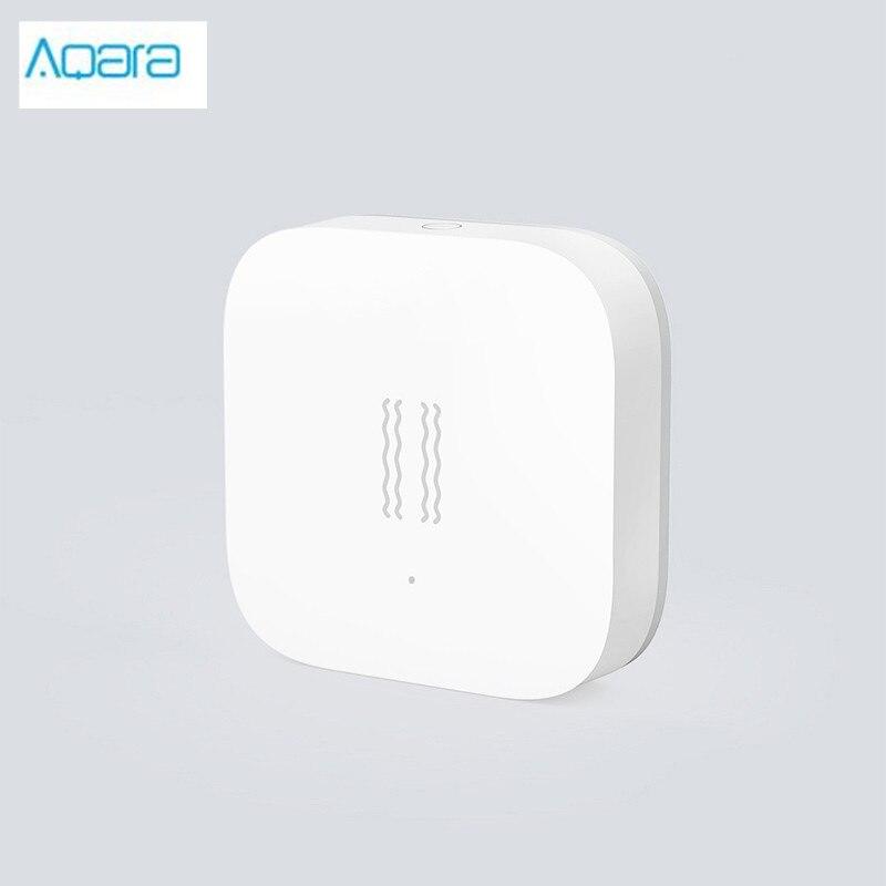 Sensor de movimiento inteligente Aqara, edición internacional, funciona con gateway connect para la aplicación mihome, se puede provocar caída de inclinación de choque
