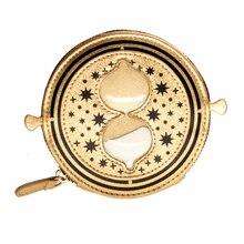 Gold Snitch Time-Turner กระเป๋าสตางค์กระเป๋าเหรียญผู้หญิงกระเป๋าสตางค์หญิง9308