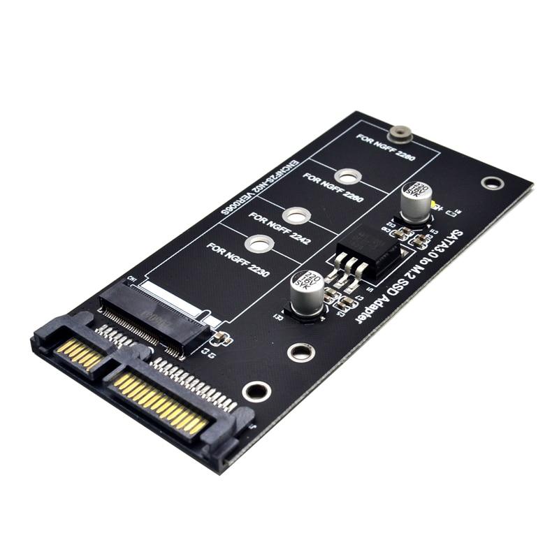 H1111Z добавить на карту NGFF M.2 адаптер M2 SATA3 Райзер M.2 SATA адаптер внешний жесткий диск SSD M2 SATA карты расширения ключ Поддерживаемые 30/42/60/80 мм