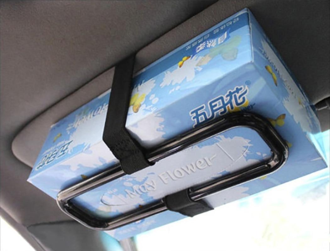 Auto soporte para caja de pañuelos de papel Auto soporte trasero para Jeep Cherokee Wrangler brújula patriota Santafe i20 i30
